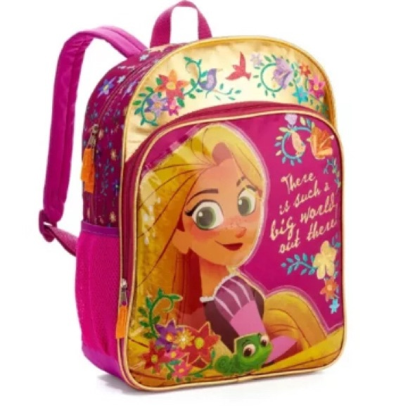 8ef48670b16 Disney Tangled Rapunzel Backpack School Bag 16